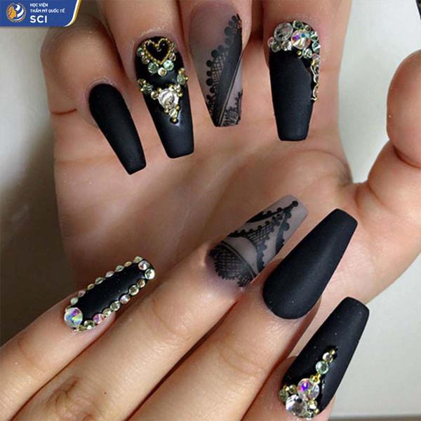 Mẫu nail lì đơn giản - hoidapnails.com