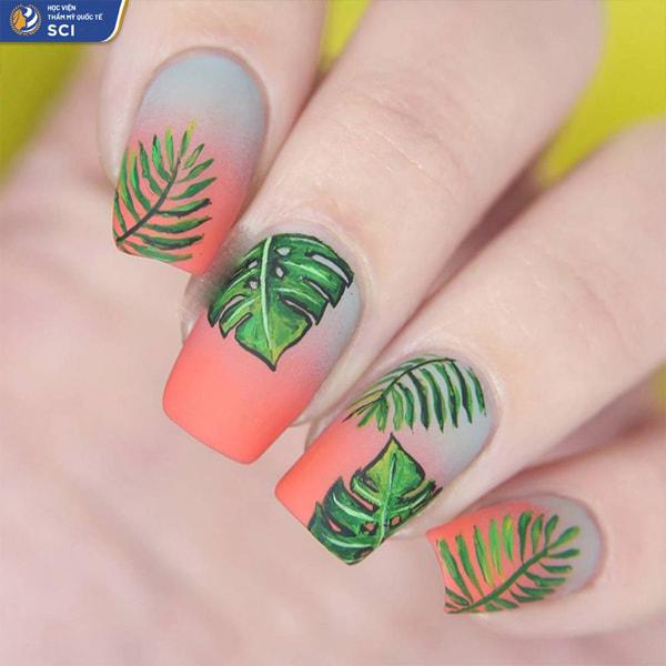 Mẫu nail lì đẹp 2021 - hoidapnails.com