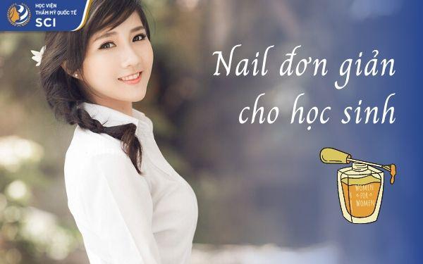Mẫu nail dành cho học sinh - hoidapnails.com