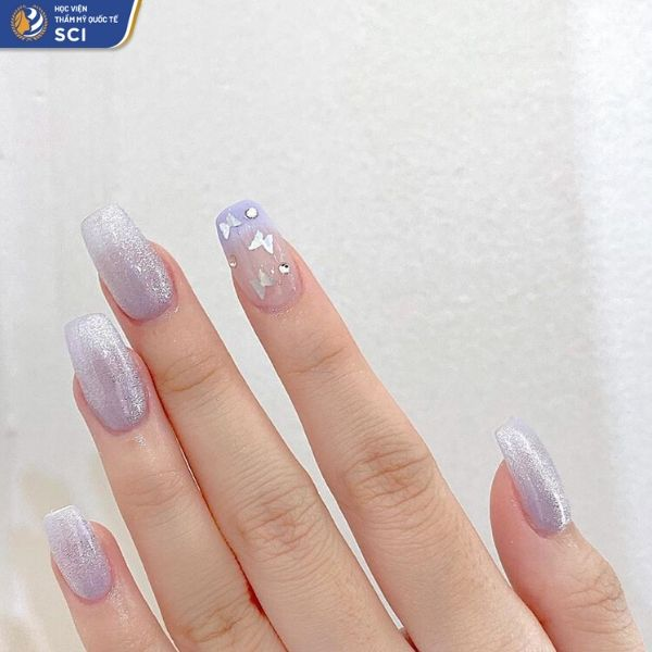 mẫu móng tay đẹp cho học sinh - hoidapnails.com