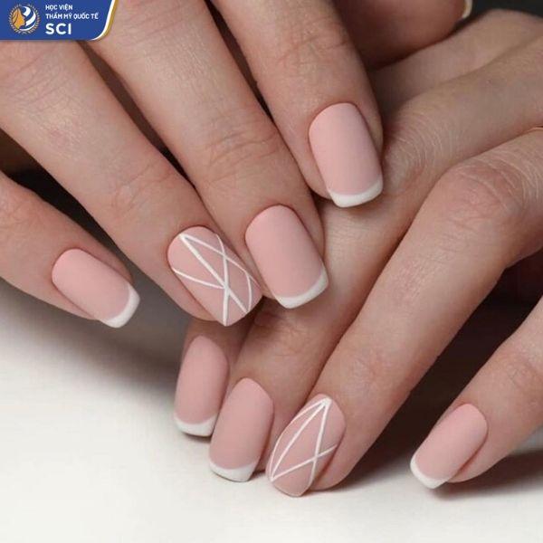 các mẫu nail đơn giản cho học sinh - hoidapnails.com
