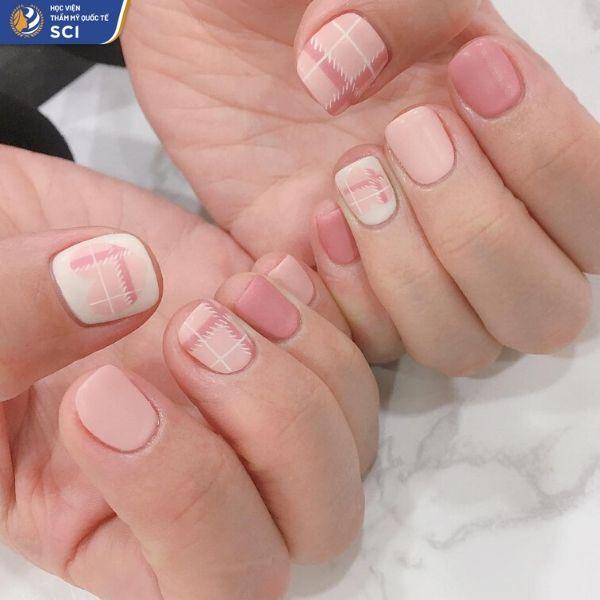 Mẫu nail đẹp đơn giản cho học sinh dễ làm - hoidapnails.com