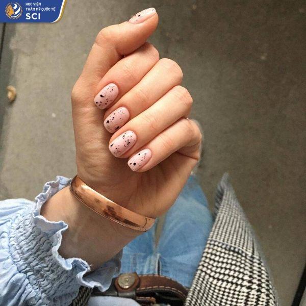 những mẫu nail đẹp dành cho học sinh - hoidapnails.com