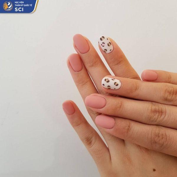 móng tay đẹp đơn giản cho học sinh - hoidapnails.com
