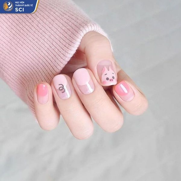 mẫu móng tay cho học sinh - hoidapnails.com