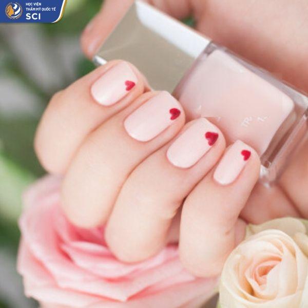 Mẫu nail đẹp dành cho học sinh - hoidapnails.com