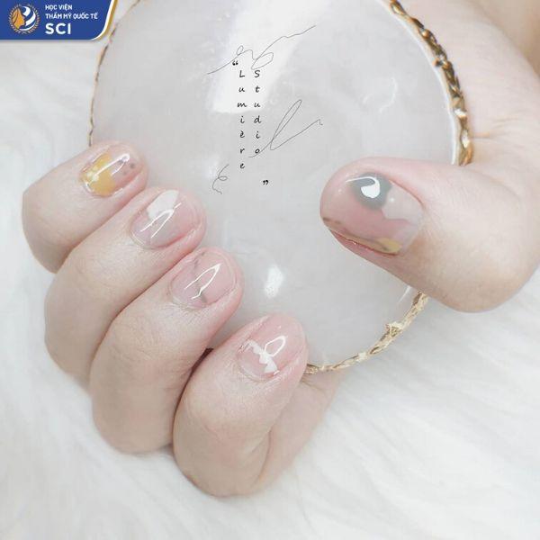 Mẫu nail đẹp đơn giản cho lứa tuổi học trò - hoidapnails.com
