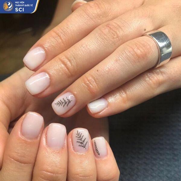 những mẫu nail đẹp cho học sinh - hoidapnails.com