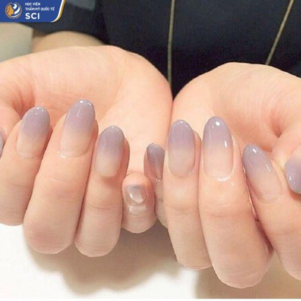sơn móng tay đơn giản cho học sinh - hoidapnails.com