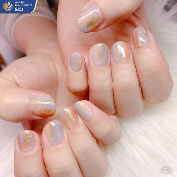 mẫu nail đơn giản cho học sinh - hoidapnails.com
