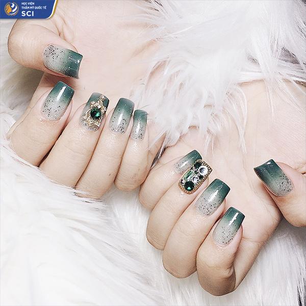 Nail ombre đẹp - hoidapnails.com
