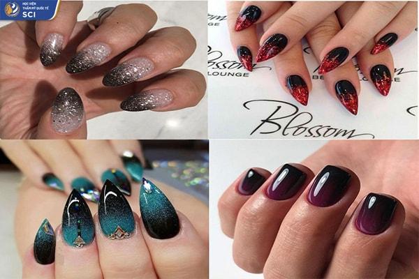 Ombre nail đẹp - hoidapnails.com
