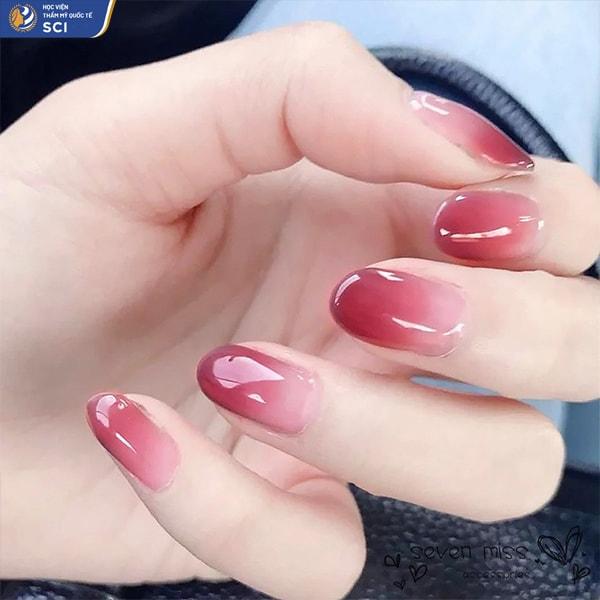 ombre nails - hoidapnails.com