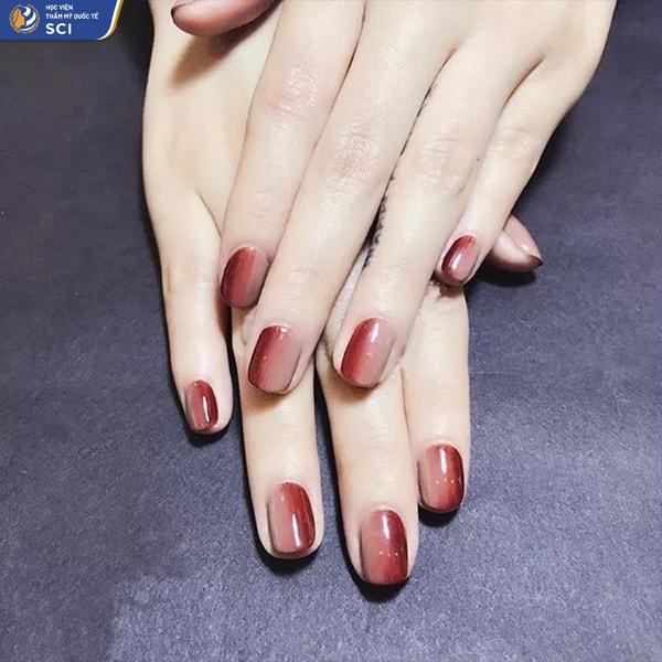Nail ombre màu hot nhất - hoidapnails.com