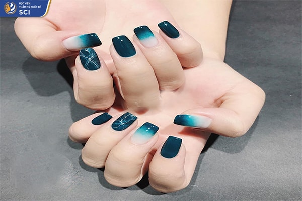 Các màu móng tay ombre - hoidapnails.com