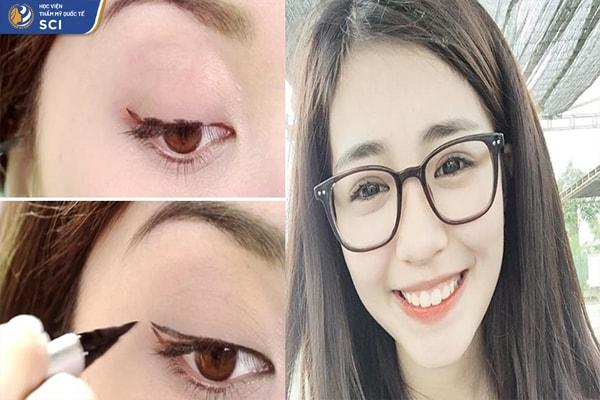 Cách make up nhẹ nhàng đi học - hoidapnails.com