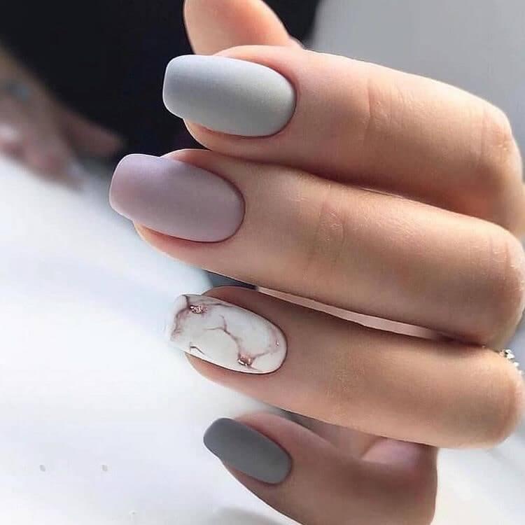 kiểu móng tay đơn giản - hoidapnails.com
