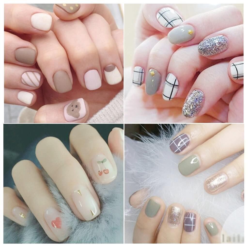 mẫu móng tay dễ thương - hoidapnails.com
