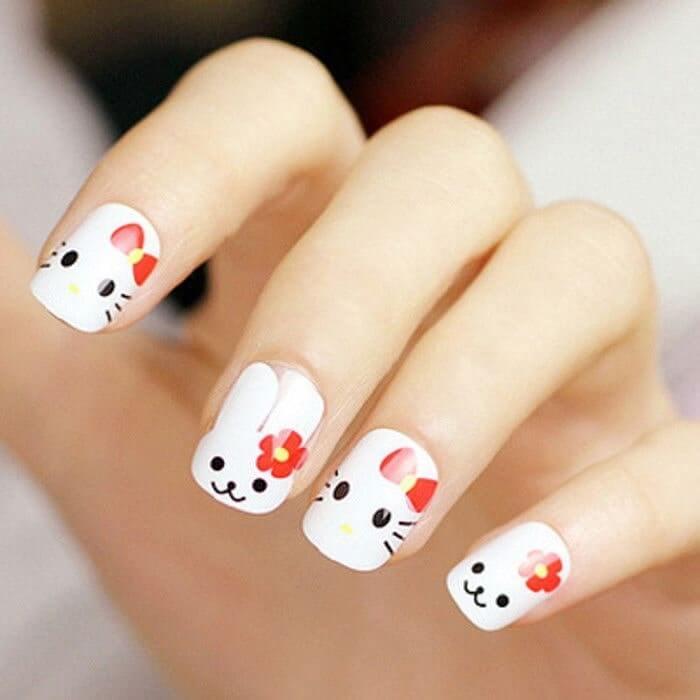 những mẫu nail đẹp đơn giản nhẹ nhàng - hoidapnails.com