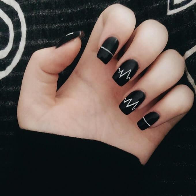 mẫu nail dễ thương - hoidapnails.com