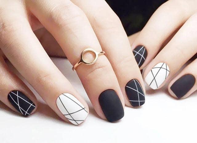 các kiểu móng tay dễ thương - hoidapnails.com