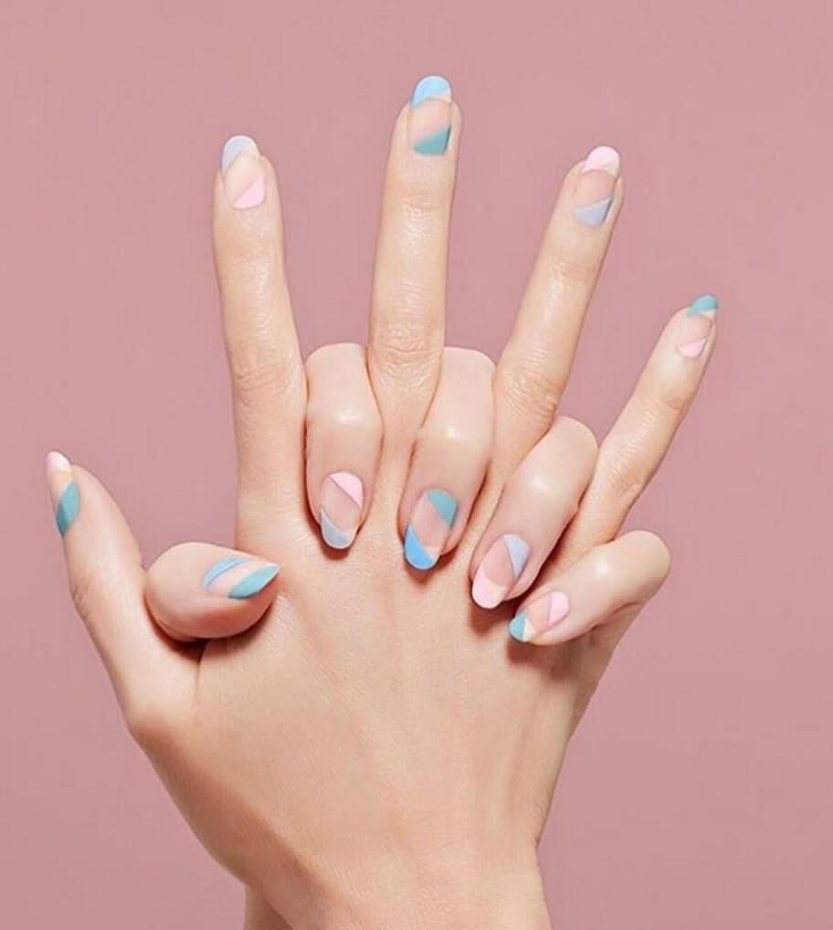 các mẫu nail đẹp đơn giản 2021 - hoidapnails.com