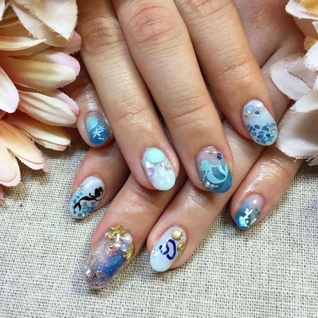 mẫu nail đơn giản dễ thương - hoidapnails.com
