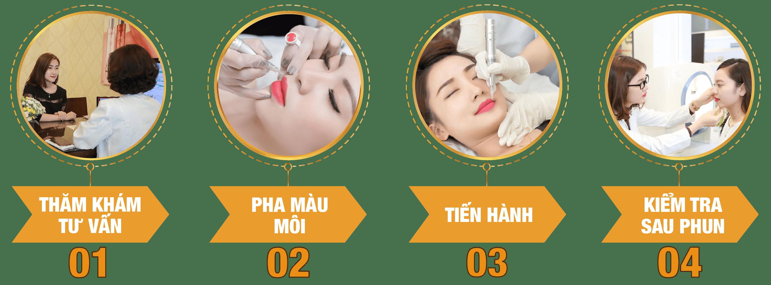 Phun môi ở đâu đẹp tại Hà Nội - hoidapnails.com