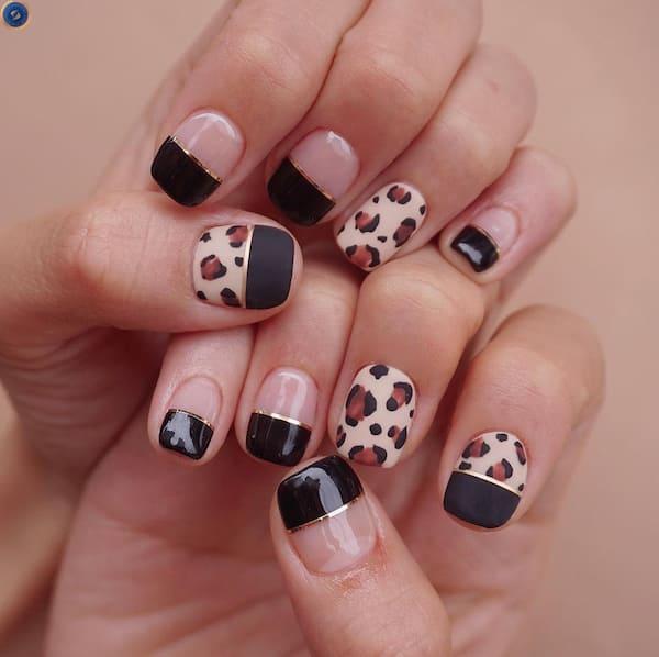 Một mẫu nail đón tết vô cùng sành điệu - hoidapnails.com