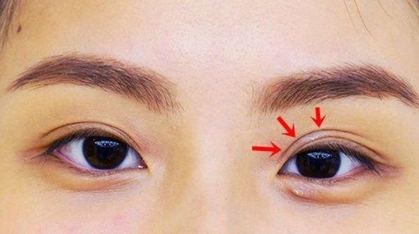 makeup mắt mí lót - hoidapnails.com